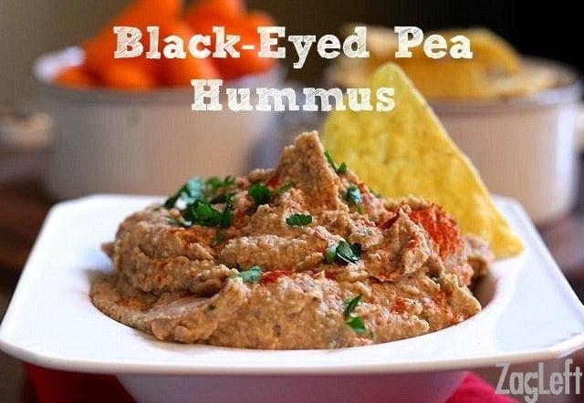 Black Eyed Pea Hummus Recipe from ZagLeft