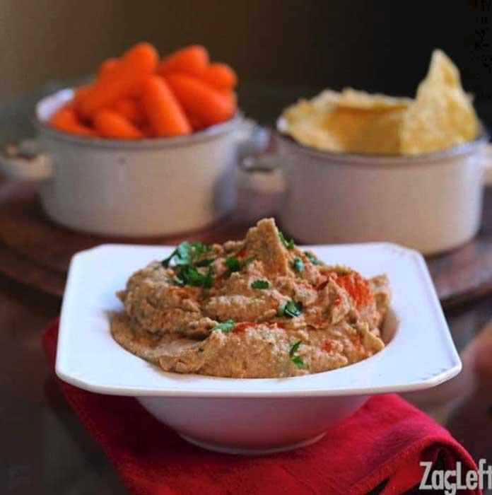 Black Eyed Pea Hummus Recipe | One Dish Kitchen
