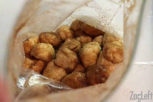 apple fritter monkey bread dough balls