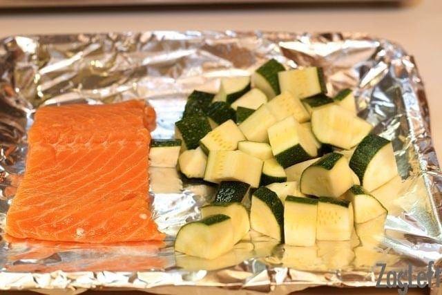 Sheet Pan Broiled Salmon Recipe | One Dish Kitchen