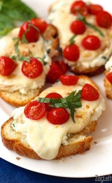 Caprese Toast Recipe   One Dish Kitchen