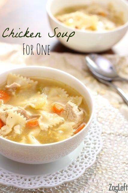 Chicken Soup | One Dish Kitchen
