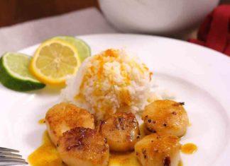 Scallops With Orange Sauce | ZagLeft