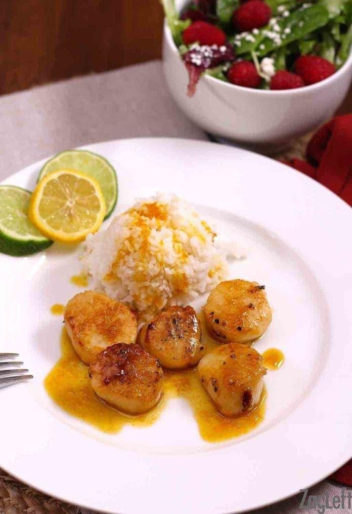 Scallops With Orange Sauce Recipe | One Dish Kitchen