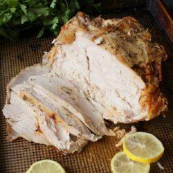 Roast Turkey Breast Recipe   One Dish Kitchen