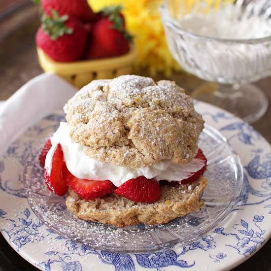 Strawberry Shortcake For One | One Dish Kitchen