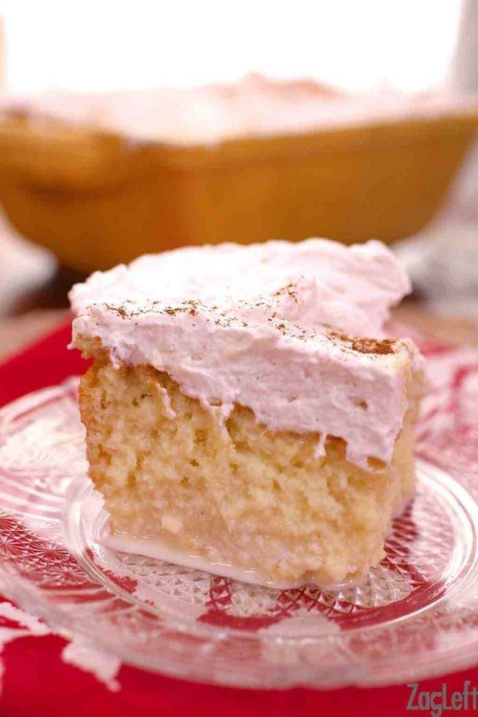 Tres Leches Cake | One Dish Kitchen