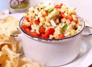 Grilled Corn Salsa | One Dish Kitchen