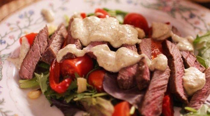 Steak Salad Recipe For One | One Dish Kitchen