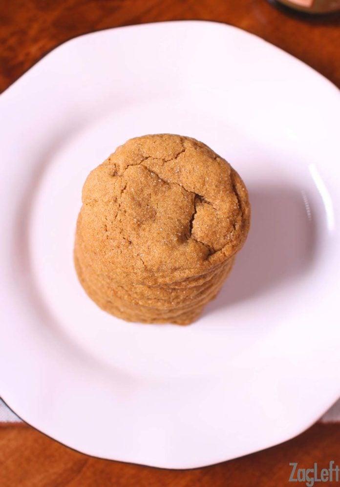 Soft gingersnaps recipe   One Dish Kitchen