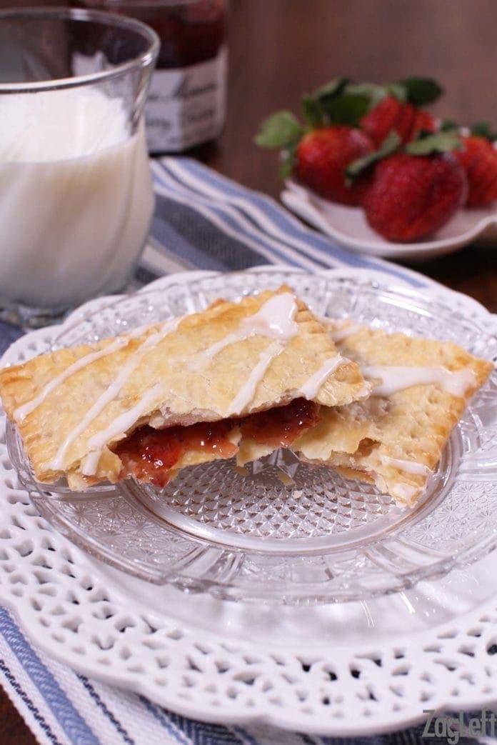 Easy Homemade Pop-Tart Recipe | Homemade Toaster Pastries | One Dish Kitchen