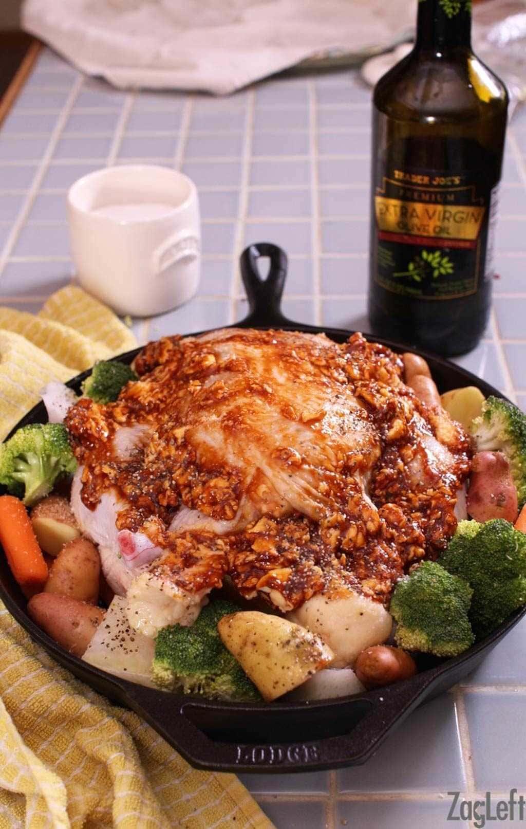 How To Make A One Pan Chicken Dinner   One Dish Kitchen   BBQ Chicken