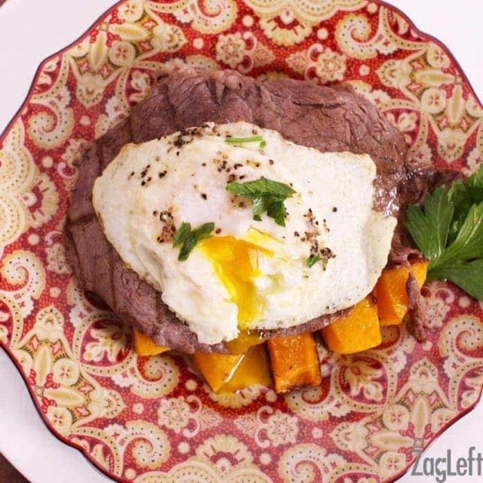 Steak and Eggs Recipe | One Dish Kitchen