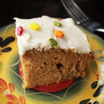 Small Batch Pumpkin Bars | One Dish Kitchen