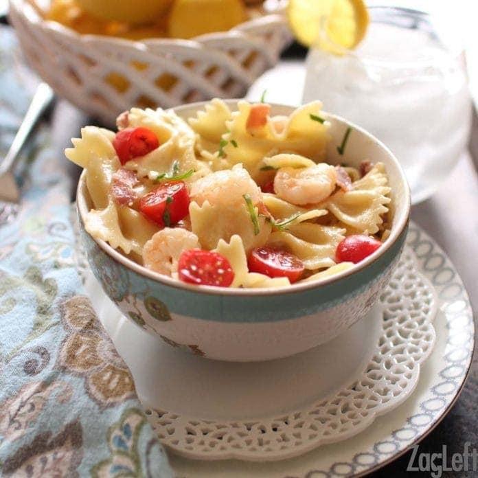 Shrimp and Prosciutto Pasta Recipe | One Dish Kitchen