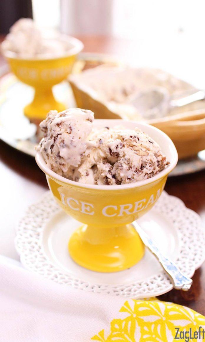 Butter Pecan Ice Cream | One Dish Kitchen