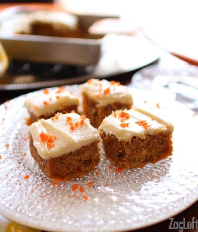 carrot cake for one | one dish kitchen