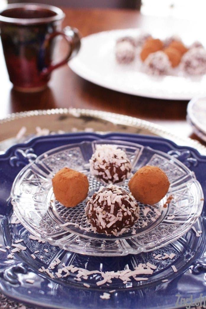 vegan chocolate truffles | one dish kitchen