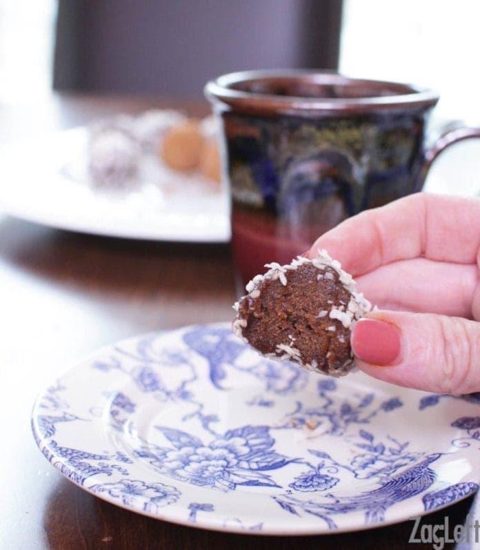 one vegan truffle | chocolate truffles | one dish kitchen