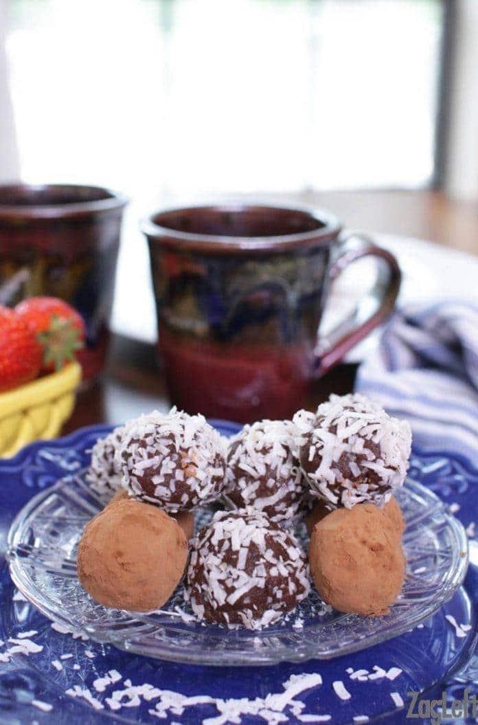 Vegan Chocolate Truffles   One Dish Kitchen