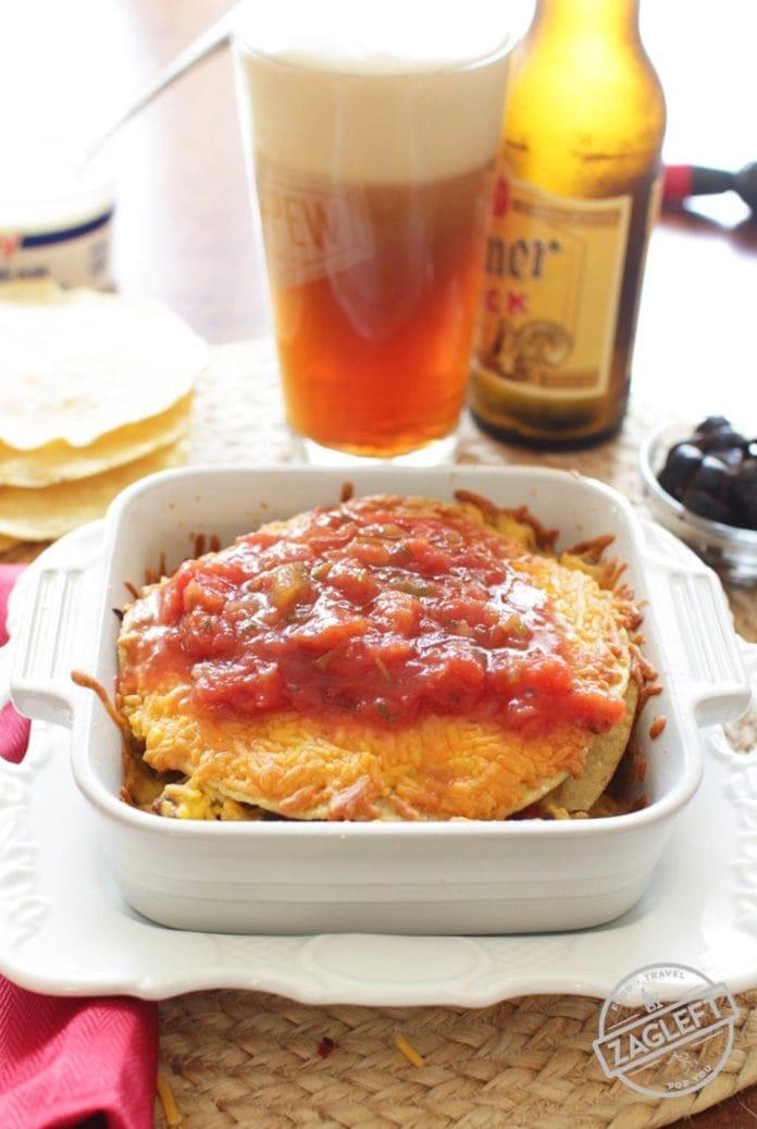 taco casserole | One Dish Kitchen