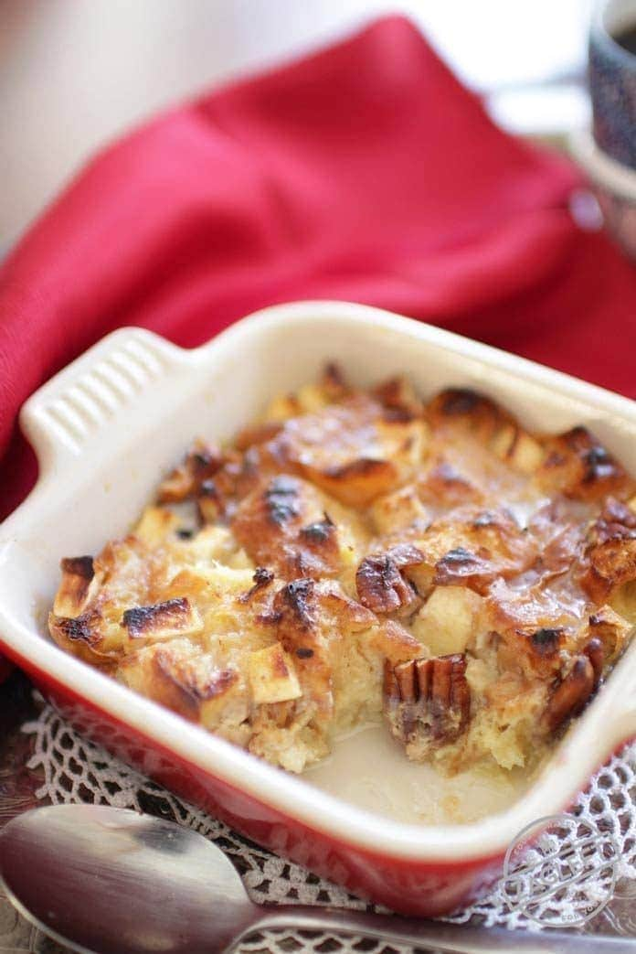 How To Make A Breakfast Bread Pudding For One | One Dish Kitchen