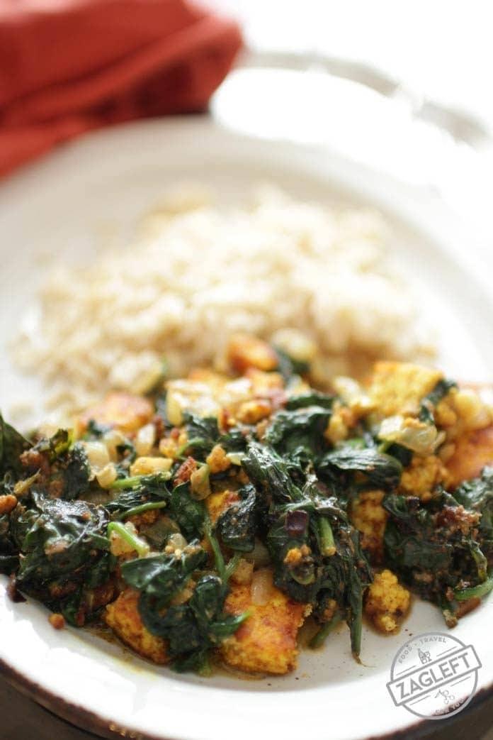 Saag Paneer | One Dish Kitchen