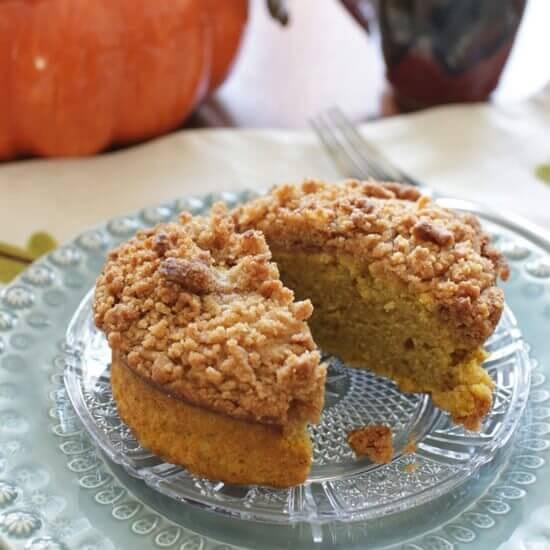 Pumpkin Coffee Cake For One \ ZagLeft