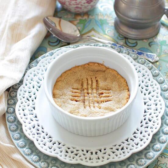 Deep Dish Peanut Butter Cookie For One | onedishkitchen.com
