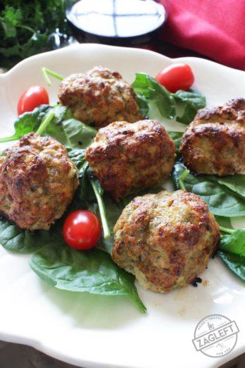 Turkey Meatballs For One   onedishkitchen.com