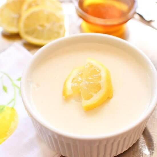 Promo image for Honey Lemon Custard For One recipe
