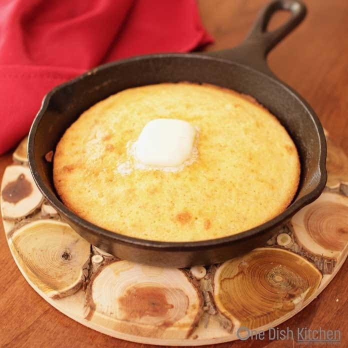 small batch of southern cornbread   one dish kitchen   cornbread recipe