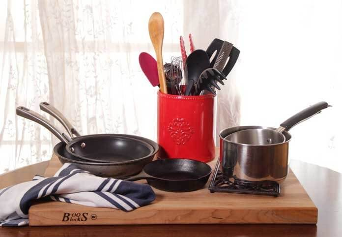 Cookware for Cooking for One Kitchen