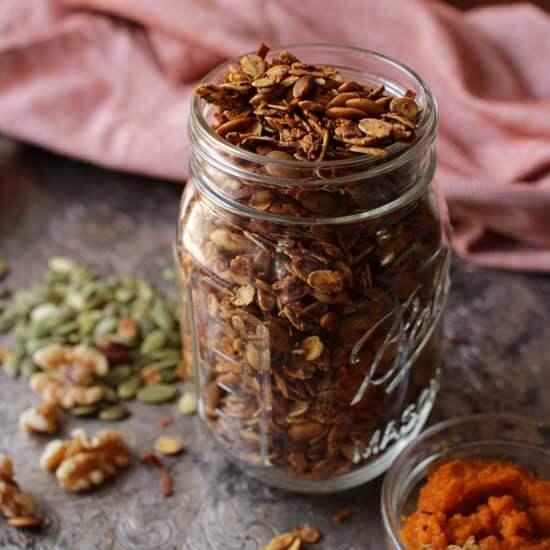 Pumpkin Spice Granola   One Dish Kitchen