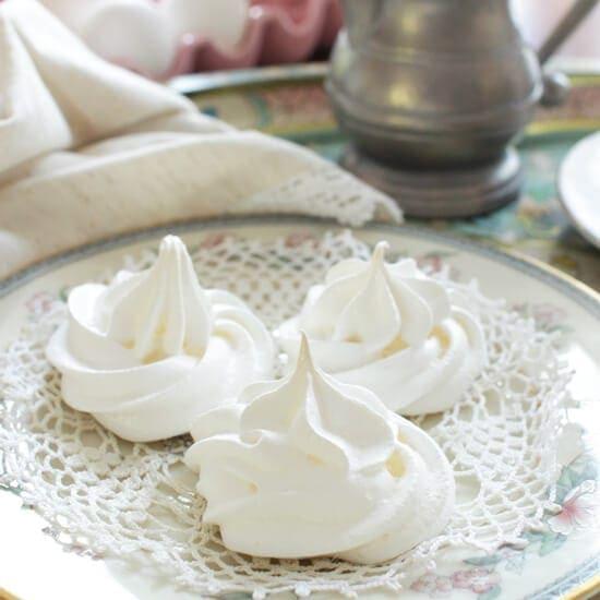 Small Batch Meringues | One Dish Kitchen