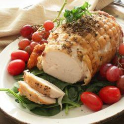Herb Crusted Turkey Roast   One Dish Kitchen