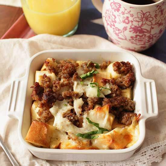 Breakfast Casserole For One | One Dish Kitchen