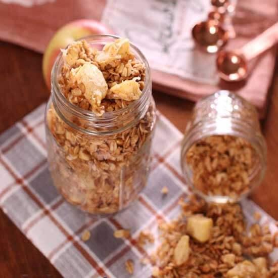 Apple Pie Granola | The Best Apple Recipes | One Dish Kitchen
