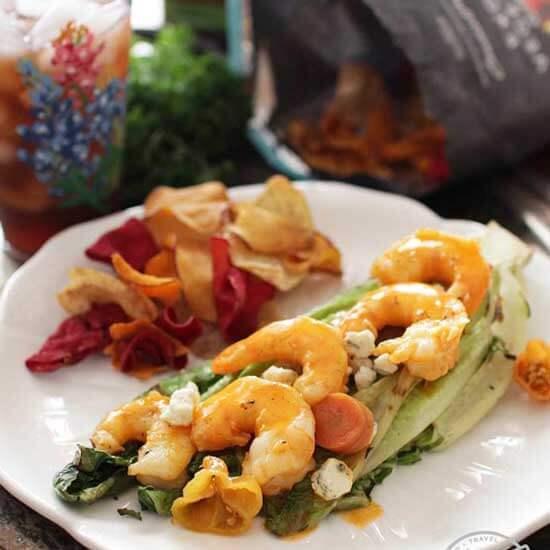 Grilled Buffalo Shrimp | Meatless Meals For Lent | One Dish Kitchen