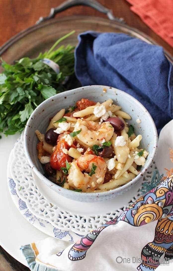 Shrimp and Pasta    One Dish Kitchen