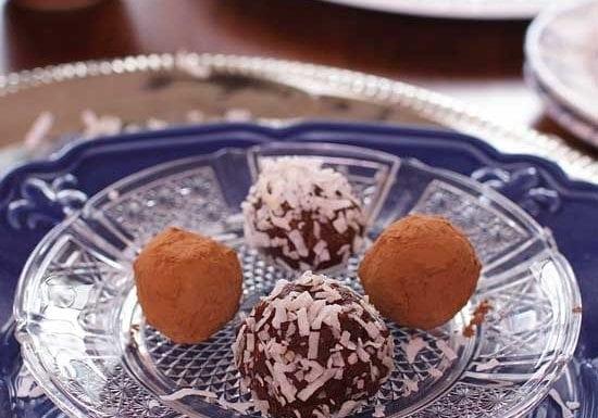 vegan truffles   one dish kitchen