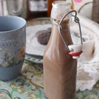 Chocolate Coffee Creamer   One Dish Kitchen