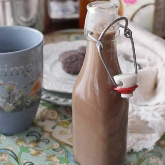 Chocolate Coffee Creamer | One Dish Kitchen
