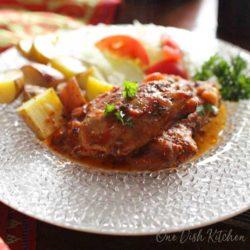 slow cooker Italian Chicken | One Dish Kitchen