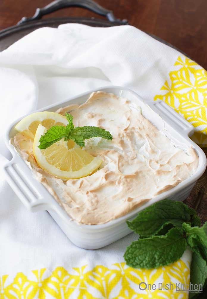 Lemon Meringue Pie recipe for one | One Dish Kitchen