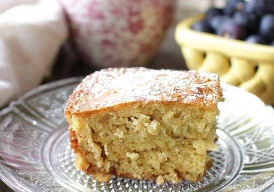 Mini Orange Oat Breakfast Cake | One Dish Kitchen