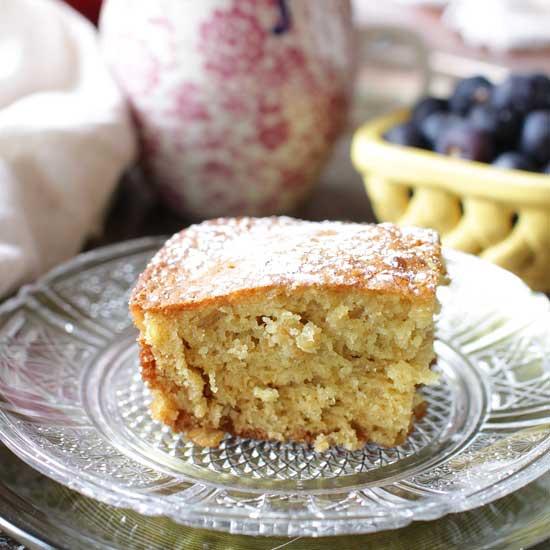 Mini Orange Oat Breakfast Cake   One Dish Kitchen