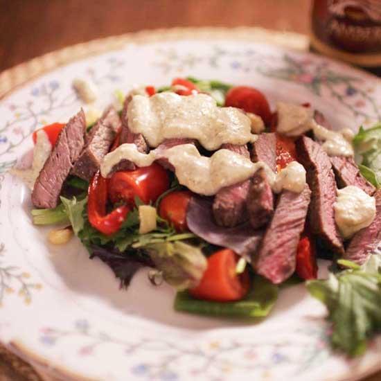 steak salad | one dish kitchen