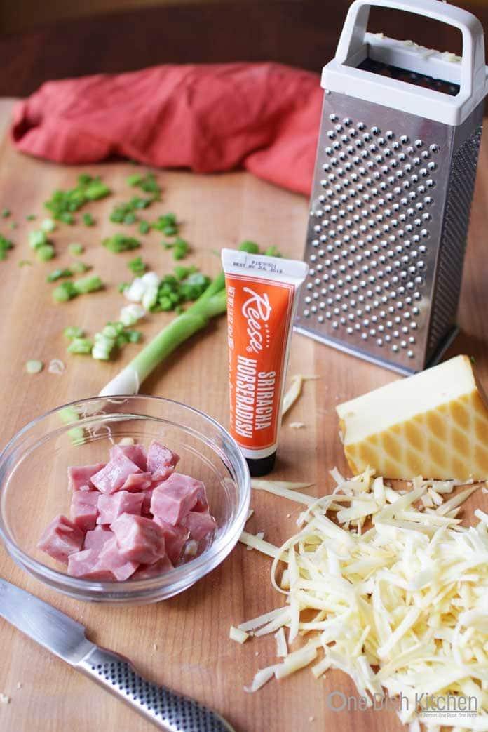Ingredients in scones   One Dish Kitchen