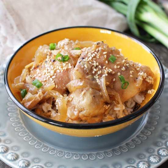 Slow Cooker Orange Chicken For One | One Dish Kitchen